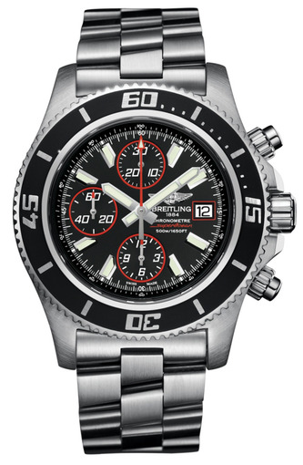 Мужские швейцарские наручные часы Breitling SUPEROCEAN A1334102/BA81/134A