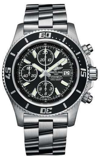 Фото швейцарских часов Мужские швейцарские наручные часы Breitling AEROMARINE A1334102/BA83/134S