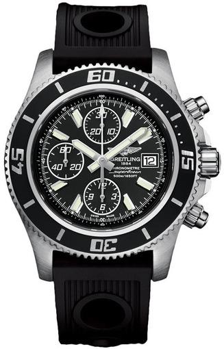 Фото швейцарских часов Мужские швейцарские наручные часы Breitling AEROMARINE A1334102/BA84/134S
