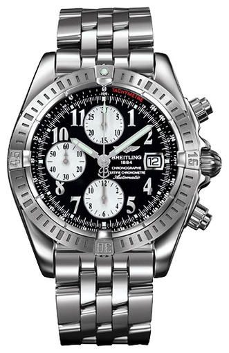 Фото швейцарских часов Мужские швейцарские наручные часы Breitling Chronomat Evolution A1335611/B722/372A