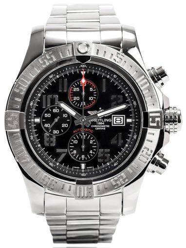 Фото швейцарских часов Мужские швейцарские наручные часы Breitling Avenger A1337111/BC28/168A