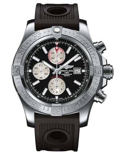 Фото швейцарских часов Мужские швейцарские наручные часы Breitling Super Avenger A1337111/BC29/201S
