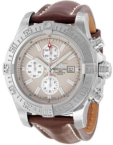 Фото швейцарских часов Мужские швейцарские наручные часы Breitling Super Avenger A1337111/G779/443X