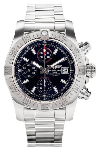Фото швейцарских часов Мужские швейцарские наручные часы Breitling Avenger A1338111/BC32/170A