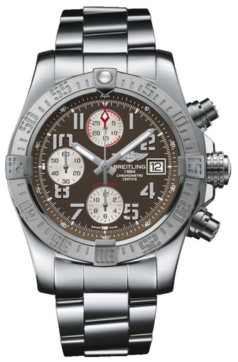 Фото швейцарских часов Мужские швейцарские наручные часы Breitling Avenger A1338111/F564/170A