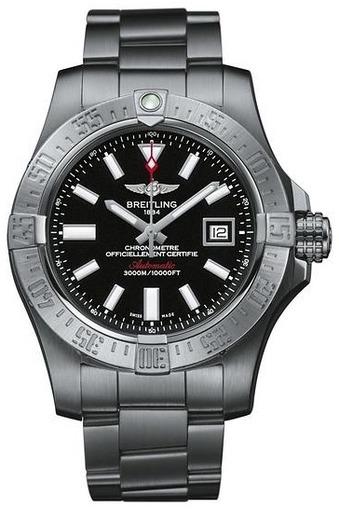 Фото швейцарских часов Мужские швейцарские наручные часы Breitling Avenger seawolf A1733110/BC30/169A