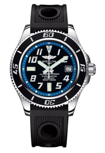 Фото швейцарских часов Мужские швейцарские наручные часы Breitling Superocean 42   A1736402/BA30/202S