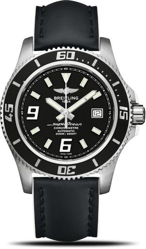 Фото швейцарских часов Мужские швейцарские наручные часы Breitling SUPEROCEAN A1739102/BA77/226X