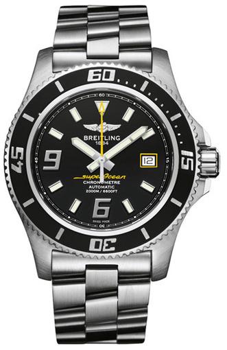 Фото швейцарских часов Мужские швейцарские наручные часы Breitling SUPEROCEAN A1739102/BA78/134A