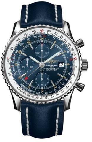 Фото швейцарских часов Мужские швейцарские наручные часы Breitling Navitimer World A2432212/C651/101X