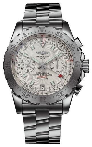 Фото швейцарских часов Мужские швейцарские наручные часы Breitling Skyracer A2736234/G615/140A
