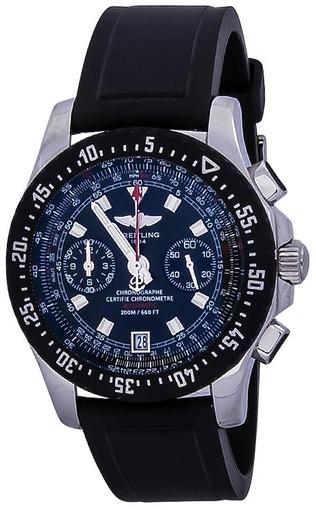 Фото швейцарских часов Мужские швейцарские наручные часы Breitling Skyracer Raven A2736423/B823/131S