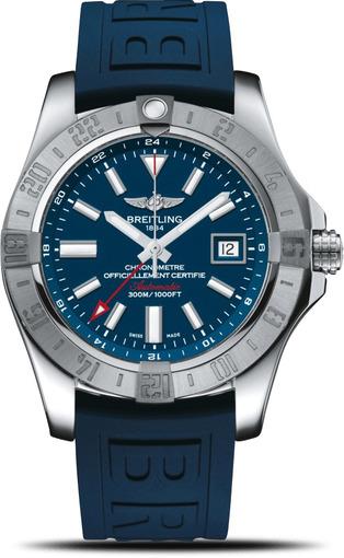 Фото швейцарских часов Мужские швейцарские наручные часы Breitling Avenger II GMT A3239011/C872/157S