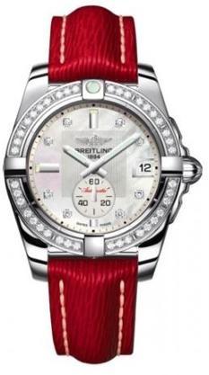 Фото швейцарских часов Женские швейцарские наручные часы Breitling Galactic 36 A3733053/A717/114Z