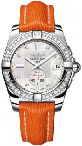 Фото швейцарских часов Женские швейцарские наручные часы Breitling Galactic 36 A3733053/A717/217X