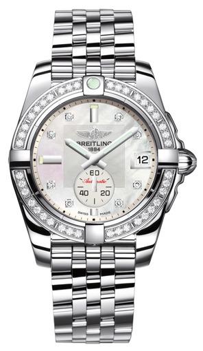 Фото швейцарских часов Женские швейцарские наручные часы Breitling Galactic 36 A3733053/A717/376A