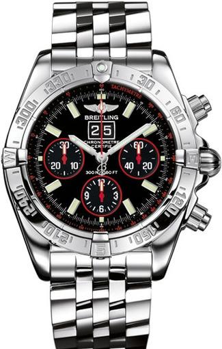 Фото швейцарских часов Мужские швейцарские наручные часы Breitling Blackbird A44359S3/BA58/374A