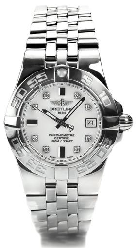 Фото швейцарских часов Женские швейцарские наручные часы Breitling Galactic 32 A71340L2/A713/368A