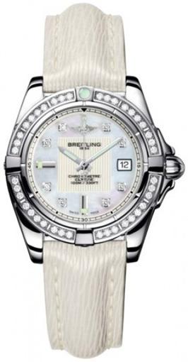 Фото швейцарских часов Женские швейцарские наручные часы Breitling Galactic 32 A71356LA/A708/235X