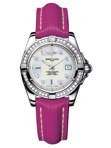 Фото швейцарских часов Женские швейцарские наручные часы Breitling Galactiс 32 A71356LA/A708/241X