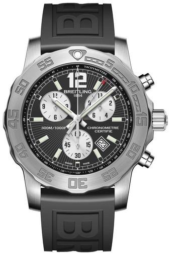 Фото швейцарских часов Мужские швейцарские наручные часы Breitling Colt Chronograph II A7338710/BB49/153S