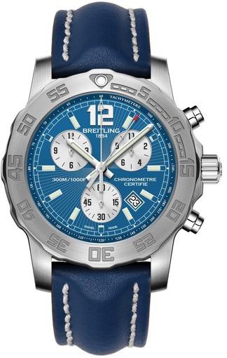 Фото швейцарских часов Мужские швейцарские наручные часы Breitling Colt Chronograph II A7338710/C848/105X