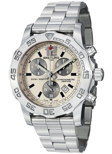 Фото швейцарских часов Мужские швейцарские наручные часы Breitling Colt 44 A7338710/G742/157A