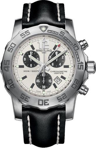 Фото швейцарских часов Мужские швейцарские наручные часы Breitling Colt Chronograph II A7338710/G742/435X