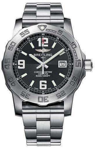 Фото швейцарских часов Мужские швейцарские наручные часы Breitling Colt 44 A7438710/BB50/153S