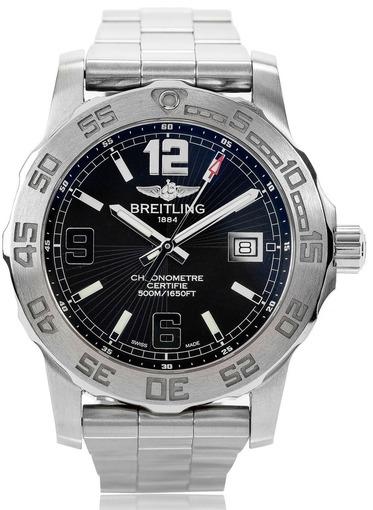 Фото швейцарских часов Мужские швейцарские наручные часы Breitling Colt 44 A7438710/BB50/157A