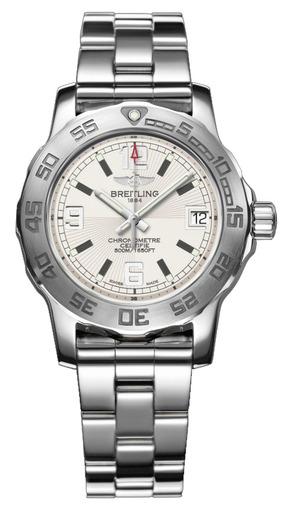 Фото швейцарских часов Мужские швейцарские наручные часы Breitling Colt 33 Diamondworks A7738753/G744/235X