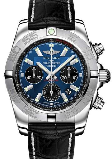 Фото швейцарских часов Мужские швейцарские наручные часы Breitling Chronomat 44  AB011011/C789/131S