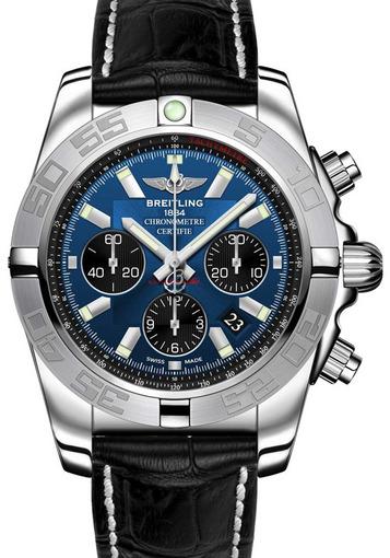 Фото швейцарских часов Мужские швейцарские наручные часы Breitling Chronomat 44  AB011011/C789/375A