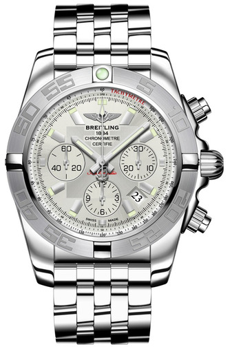 Фото швейцарских часов Мужские швейцарские наручные часы Breitling Chronomat 44  AB011011/G684/375A
