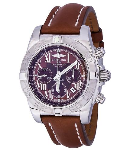 Фото швейцарских часов Мужские швейцарские наручные часы Breitling CHROMOMAT AB011011/Q566/433X