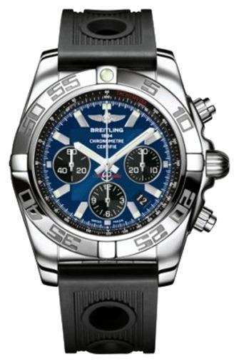 Фото швейцарских часов Мужские швейцарские наручные часы Breitling Chronomat 44  AB011012/C789/200S