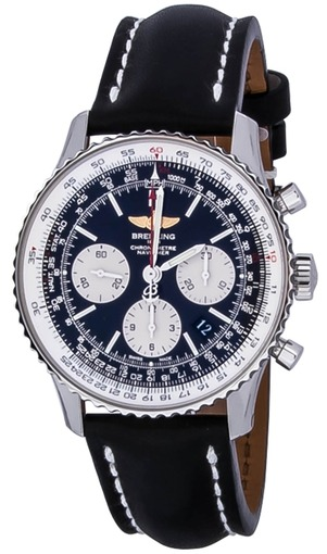 Фото швейцарских часов Мужские швейцарские наручные часы Breitling Navitimer AB012012/BB01/435X