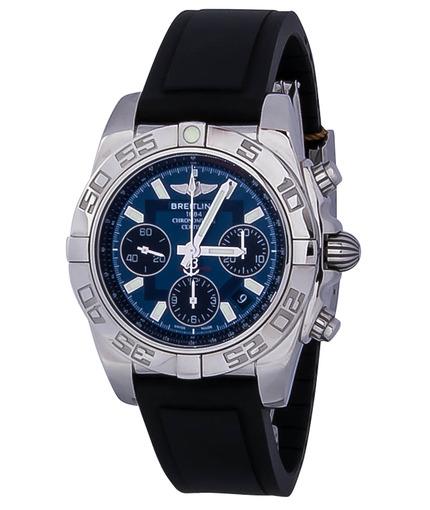 Фото швейцарских часов Мужские швейцарские наручные часы Breitling Chronomat 41 AB014012/C830/136S