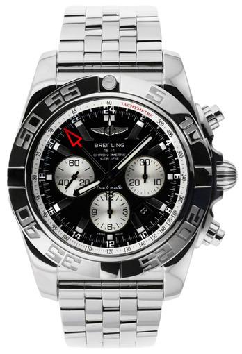 Фото швейцарских часов Мужские швейцарские наручные часы Breitling Chronomat GMT AB041012/BA69/383A