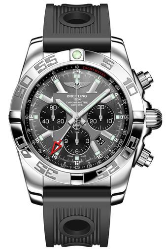 Фото швейцарских часов Мужские швейцарские наручные часы Breitling Chronomat GMT AB041012/F556/201S