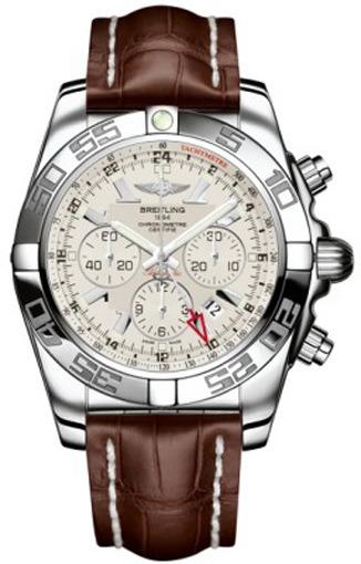 Фото швейцарских часов Мужские швейцарские наручные часы Breitling Cronomat 44 GMT AB041012/G719/756P
