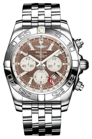 Фото швейцарских часов Мужские швейцарские наручные часы Breitling Chronomat GMT AB041012/Q586/383A