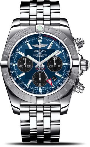 Фото швейцарских часов Мужские швейцарские наручные часы Breitling CHROMOMAT 44 AB042011/C852/375A
