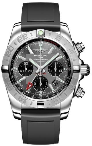 Фото швейцарских часов Мужские швейцарские наручные часы Breitling CHROMOMAT 44 AB042011/F561/131S