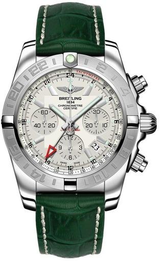 Фото швейцарских часов Мужские швейцарские наручные часы Breitling Chronomat 44 GMT AB042011/G745/748P