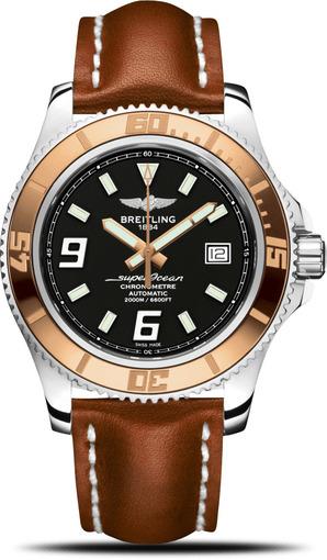 Фото швейцарских часов Мужские швейцарские наручные часы Breitling SUPEROCEAN C1739112/BA77/433X