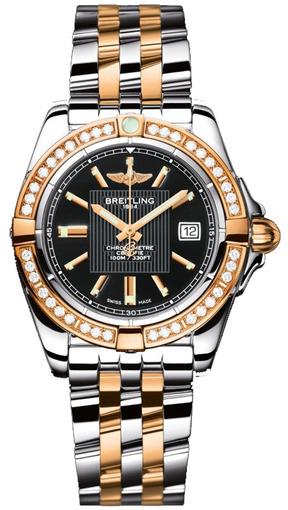 Фото швейцарских часов Женские швейцарские наручные часы Breitling Galactiс 36 C3733012/BA54/376C