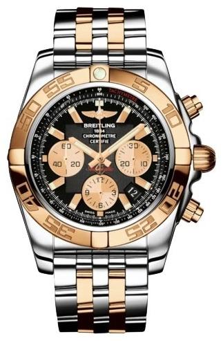 Фото швейцарских часов Мужские швейцарские наручные часы Breitling Chronomat 44  CB011012/B968/375C