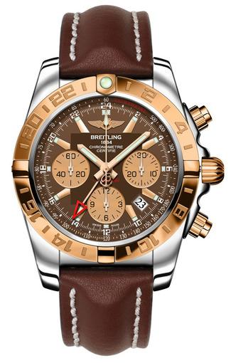 Фото швейцарских часов Мужские швейцарские наручные часы Breitling Chronomat 44 GMT CB042012/Q590/437X