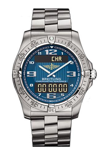 Фото швейцарских часов Мужские швейцарские наручные часы Breitling Aerospace E7936210/C787/130E